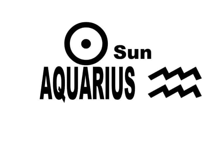 Sun Aquarius